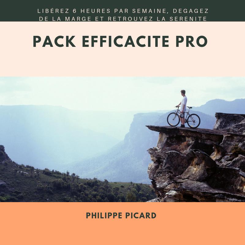 Efficacité PRO, le Pack qu'il vous faut